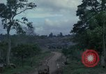 Image of 1st cavalry Division tent area Ankhe South Vietnam, 1965, second 12 stock footage video 65675030375