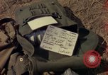 Image of helicopter rappel Ankhe South Vietnam, 1966, second 2 stock footage video 65675030386