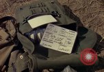 Image of helicopter rappel Ankhe South Vietnam, 1966, second 4 stock footage video 65675030386