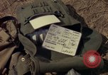 Image of helicopter rappel Ankhe South Vietnam, 1966, second 5 stock footage video 65675030386