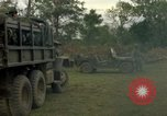 Image of 1st Air Cavalry Division troops Ankhe South Vietnam, 1965, second 12 stock footage video 65675030387