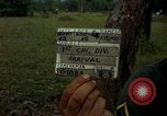 Image of stacked supplies Ankhe South Vietnam, 1965, second 8 stock footage video 65675030390