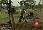 Image of stacked supplies Ankhe South Vietnam, 1965, second 10 stock footage video 65675030390