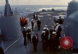 Image of HUS1 UH-34D Seahorse lands on USS North Hampton Atlantic Ocean, 1962, second 4 stock footage video 65675030397