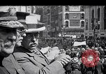 Image of inductees in civilian clothes march New York United States USA, 1917, second 2 stock footage video 65675030403