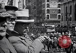 Image of inductees in civilian clothes march New York United States USA, 1917, second 5 stock footage video 65675030403