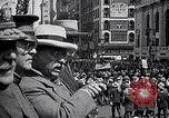 Image of inductees in civilian clothes march New York United States USA, 1917, second 8 stock footage video 65675030403