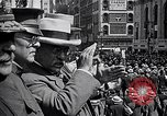 Image of inductees in civilian clothes march New York United States USA, 1917, second 11 stock footage video 65675030403