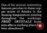Image of frost crystals Kennecott Alaska USA, 1927, second 1 stock footage video 65675030413