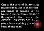 Image of frost crystals Kennecott Alaska USA, 1927, second 3 stock footage video 65675030413