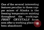 Image of frost crystals Kennecott Alaska USA, 1927, second 8 stock footage video 65675030413