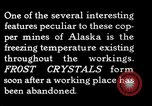 Image of frost crystals Kennecott Alaska USA, 1927, second 10 stock footage video 65675030413
