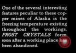Image of frost crystals Kennecott Alaska USA, 1927, second 12 stock footage video 65675030413