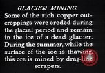 Image of glacier mining Kennecott Alaska USA, 1927, second 1 stock footage video 65675030415
