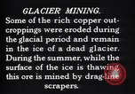 Image of glacier mining Kennecott Alaska USA, 1927, second 2 stock footage video 65675030415