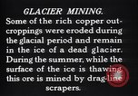 Image of glacier mining Kennecott Alaska USA, 1927, second 4 stock footage video 65675030415