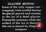 Image of glacier mining Kennecott Alaska USA, 1927, second 5 stock footage video 65675030415