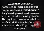Image of glacier mining Kennecott Alaska USA, 1927, second 7 stock footage video 65675030415