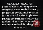 Image of glacier mining Kennecott Alaska USA, 1927, second 8 stock footage video 65675030415