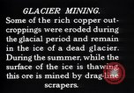 Image of glacier mining Kennecott Alaska USA, 1927, second 9 stock footage video 65675030415
