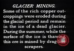Image of glacier mining Kennecott Alaska USA, 1927, second 10 stock footage video 65675030415