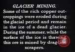 Image of glacier mining Kennecott Alaska USA, 1927, second 12 stock footage video 65675030415