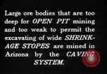 Image of copper mine Ray Arizona USA, 1927, second 3 stock footage video 65675030417