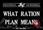Image of War Rationing United States USA, 1917, second 2 stock footage video 65675030442