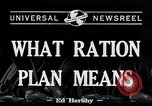 Image of War Rationing United States USA, 1917, second 3 stock footage video 65675030442