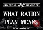 Image of War Rationing United States USA, 1917, second 5 stock footage video 65675030442
