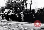 Image of womens suffrage parade Washington DC USA, 1913, second 1 stock footage video 65675030443