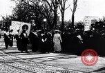 Image of womens suffrage parade Washington DC USA, 1913, second 2 stock footage video 65675030443