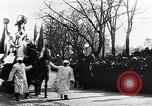 Image of womens suffrage parade Washington DC USA, 1913, second 3 stock footage video 65675030443