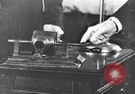 Image of tinfoil phonograph United States USA, 1928, second 8 stock footage video 65675030451