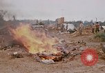 Image of dismantling Fire Base Myron Cambodia, 1970, second 11 stock footage video 65675030460