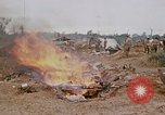 Image of dismantling Fire Base Myron Cambodia, 1970, second 12 stock footage video 65675030460