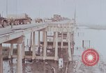 Image of damged Newport Bridge Saigon Vietnam, 1968, second 11 stock footage video 65675030473