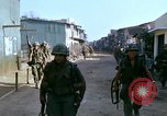 Image of US 199th Light Infantry in Vietnam Saigon Vietnam, 1968, second 7 stock footage video 65675030478