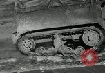Image of half-track truck blending tank track and tires Akron Ohio USA, 1941, second 4 stock footage video 65675030484