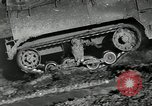 Image of half-track truck blending tank track and tires Akron Ohio USA, 1941, second 5 stock footage video 65675030484