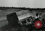 Image of half-track truck blending tank track and tires Akron Ohio USA, 1941, second 10 stock footage video 65675030484