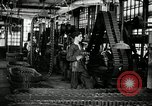 Image of half track tread assembly line Akron Ohio USA, 1941, second 12 stock footage video 65675030485