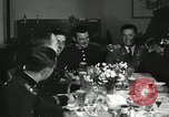 Image of Visiting Latin American officers at dinner in the U.S.A. United States USA, 1942, second 2 stock footage video 65675030494