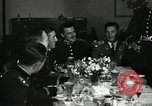 Image of Visiting Latin American officers at dinner in the U.S.A. United States USA, 1942, second 3 stock footage video 65675030494