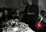 Image of Visiting Latin American officers at dinner in the U.S.A. United States USA, 1942, second 7 stock footage video 65675030494