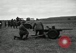 Image of Visiting Latin American participate in firing of 37mm guns Fort Riley Kansas USA, 1942, second 3 stock footage video 65675030495
