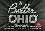 Image of WPA developments after Great Depression Ohio United States USA, 1937, second 8 stock footage video 65675030500