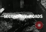 Image of improved roads and rural school system Ohio United States USA, 1937, second 2 stock footage video 65675030502