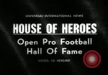 Image of Pro Football Hall of Fame Canton Ohio USA, 1963, second 4 stock footage video 65675030506