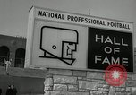 Image of Pro Football Hall of Fame Canton Ohio USA, 1963, second 10 stock footage video 65675030506